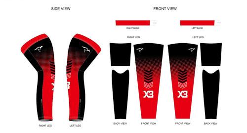 X3 Leg Warmers