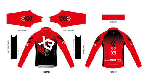 X3 Long Sleeve Thermal Jersey