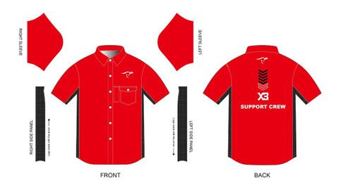 X3 Short Sleeve Support Crew Mechanic Shirt