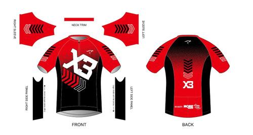 X3 Short Sleeve Aero Tri Top