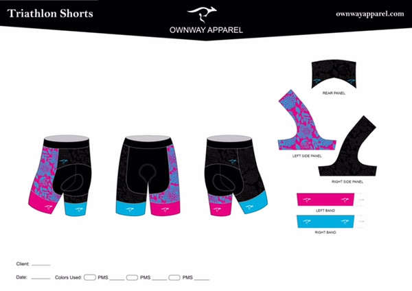 Jessica Jones Meyers Collection Tri Short