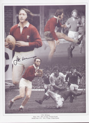 Superb montage showing JPR Williams in action for Wales.