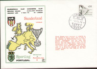 On offer is an original dawn flown first day cover to celebrate Sunderland V Sporting Portugal Cup Winners Cup 1973, issued in November 1973.
