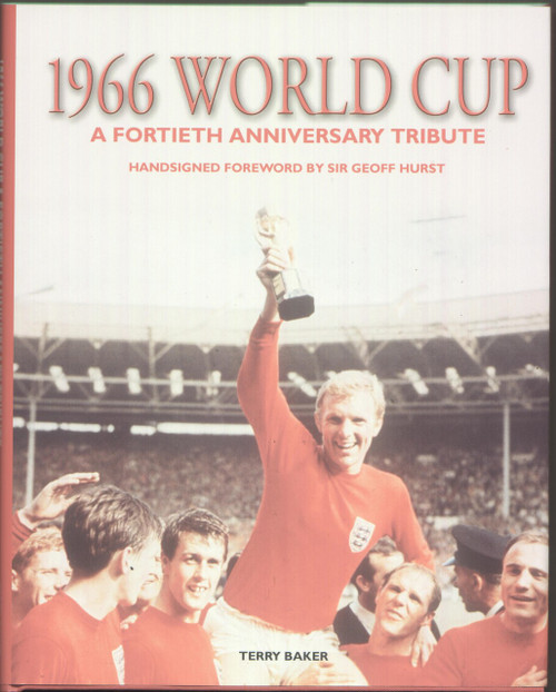 England World Cup Winners signed book