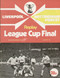 original Official 1978 League Cup Final Replay programme. The game, Liverpool V Nottingham Forest was played on 22nd March 1978 at Old Trafford.
