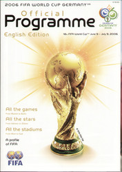 original Official Germany 2006 World Cup Tournament Group Stage programme.
