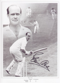 Brian Close England Cricket Legend.  Despite playing in only 22 Tests, Brian Close was a remarkable character and a legend in both Yorkshire and English cricket. He had tremendous all-round sporting talent, playing professional soccer for Leeds United, Arsenal and Bradford City before a knee injury forced him to retire.