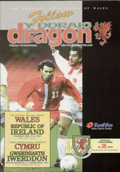 original Official programme for the international match Wales V Ireland played on 11 February 1997 in Cardiff.