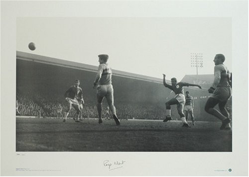Anfield 1964, Roger Hunt shoots for goal against West Ham. This superb specially commissioned Limited Edition Picture of just 500 is signed by Roger Hunt.