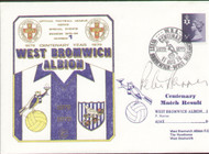 original first day cover to celebrate West Brom's centenary year. Issued August 1979. Complete with filler card.