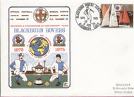 original first day cover to celebrate Blackburn Rovers as Division III Champions in their Centenary Year, issued in November 1975.