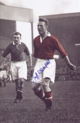 Whitefoot started his career as a trainee with Manchester United in 1949. He made his debut against Portsmouth in April 1950, at the time he was the youngest player to start in a League match for United at 16 years and 105 days. In eight seasons at United, he made 95 appearances in all competitions and was a member of the 1952 and 1956 title-winning sides.