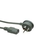 IEC-C13 2m Gry R/A Mains - K3785-010