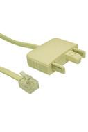 Line Cord 606/RJ11 5m Telemaster Blstr - W0025ACB