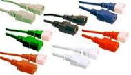 IEC C13 To C14 2m Grn - K3759-535