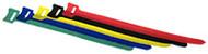 Cable Tie 'hook & loop' 200-length x 12mm Wide Bulk Packed - Green