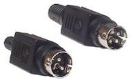 3-Pin Locking DC Plug 5.5mm Strain Relief - K3679-355