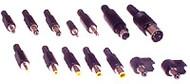 EIAJ-01 Retro-Fit O/P Plug 10X2.35.0.7 Yel Tip/Blk Shell - K3701