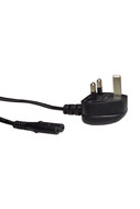 IEC-C7 UK Power Cord 2m Blk UK 3A Fuse To C7 0.75mm' - K3762UK3