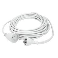 15m Extn Cord White Powermaster Retail Polybag - K4015