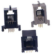 4P4C Skt PCB Mount 80 Per Tray - P1330