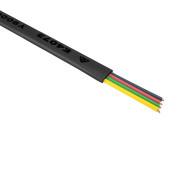 Cord Flt 4C 500m Blk - Y9210