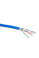CAT5e SOLID CABLE (BLUE) 100m REEL