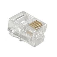 4P4C Rnd/Sol (100-Pack) 3-Prong - P2122-100