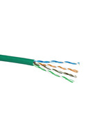 CAT5e SOLID CABLE (GREEN) 305m PULL BOX
