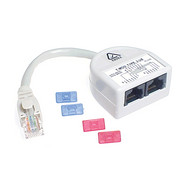 Cat-5 Y-Adaptor VD Voice+Data Wiring #6 - P2314