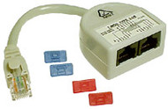 Cat-5 Y-Adaptor Parallel Wiring - P2317