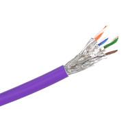 Cat 6a S/FTP Solid LSZH Purple 305m Reel - Y8700PUR