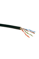 CAT-5e STRANDED CABLE (BLACK) 305m  PULL BOX