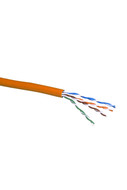 CAT-5e STRANDED CABLE (ORANGE) 305m PULL BOX