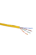 CAT-5e STRANDED CABLE (YELLOW) 305m PULL BOX