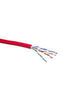 CAT-5e STRANDED CABLE (RED) 350m REEL