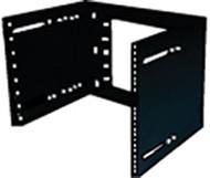 1RU 19 Wall Frame Hinged & Adjustable