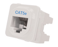 Cat 5e IDC Data Jack Whi 50-Bucket - P4665-050