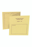 50/100Pr Record Card - P8718