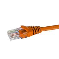 Cat5e Patch Cable 0.25m; ORANGE