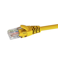 1.5m CAT5e UTP PATCH LEAD - YELLOW