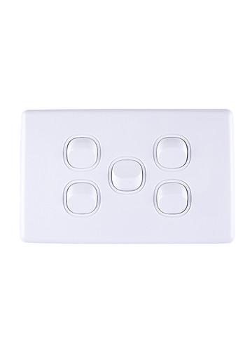 5 gang light switch
