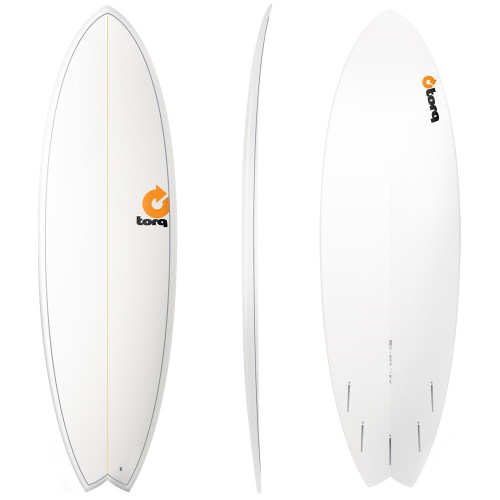"7'2"" TORQ EPOXY MOD FISH - NEW SURFBOARD"