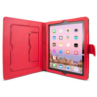 Gecko Deluxe Folio for iPad 2/3/4 - Red