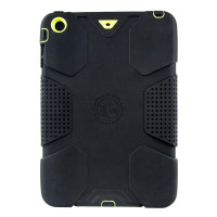 Gecko Rugged Classic Case for iPad mini 1/2/3 - Black/Citron
