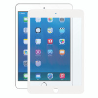"Gecko Bubble-Free Screen Protector for iPad Air 1/2 & iPad Pro 9.7"" - White - 1 Pack"