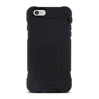 Gecko Ultra Tough Classic for iPhone 6/6s Plus - Black/Black