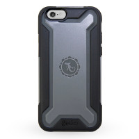 Gecko Ultra Tough Armour Case for iPhone 6/6s - Black/Grey