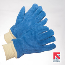 Blue WR Leather Firefighters Glove (G15/WR/TKN/KKW)