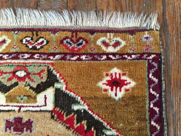 "Anatolian Rug, 1'9""x3'3''"